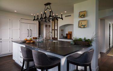 Lykos residential remodel - Kitchen island