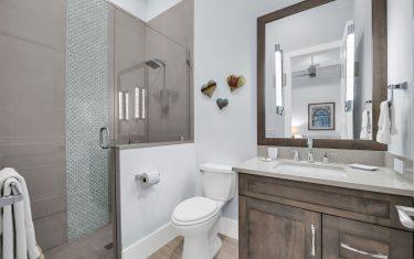 Lykos residential remodel - Guest bathroom