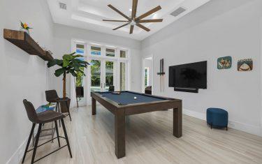 Lykos residential remodel - Game room