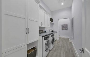 Lykos residential remodel - Laundry room