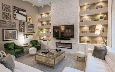 Lykos residential - Living room