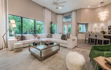 Lykos residential remodel - Living room
