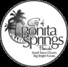 City of Bonita Springs logo in greyscale