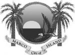 City of Marco Island logo in greyscale